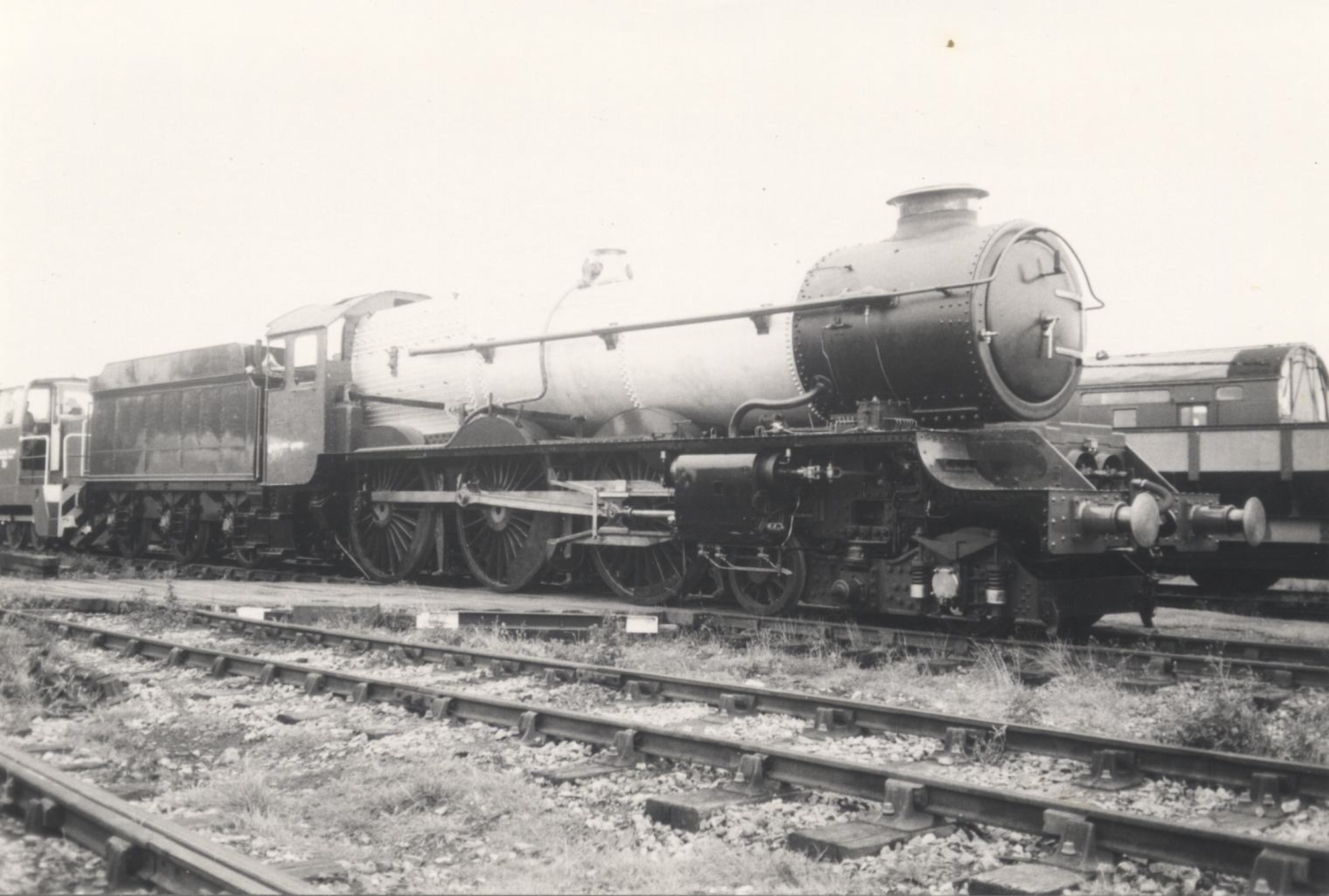 No. 6024 nearing completion at Quainton, 1989. © Unknown, please contact us if you know the photographer