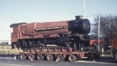 Moving No. 6024 from Barry Scrapyard to Quainton. © Unknown, please contact us if you know the photographer