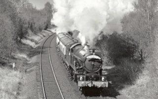 6024 King Edward I on the North Warwickshire line. 15 April 1990 © R.J Blenkinsop